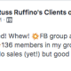 Wins! 💥Webinar approved! Whew! 💥FB group ads are finally properly targeted and effective. 💥136 members in my group! and they are engaging! 💥4 BT calls. No sales (yet!) but good practice Thank you COD!