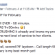 EYYYY!!!!!! First PIF for February Laydown. SHORTEST BT call EVER - 50 minutes. (My OLD norm WAS 1hr30mins 😉) A woman who is CRUSHING it already and knows my program is what will help her shift to the next level of service to her clients. Let's get it! 🤪🤪👏🏾👏🏾👏🏾 Update: Second call, second PIF laydown - Call length 59 minutes. YES BABYYYY!! February is my best month yet!