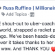 #IGotTosted - OVERDUE shout-out to uber-coach Lisa Toste who once again totally shifted my world, strapped a rocket pack to my ass, and lit the fuse about 10 days ago. We've been heads-down kicking ass, taking names, and doing whatever it takes thanks to her masterful guidance and support. Wow - just wow. And THANK YOU