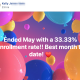 Ended May with a 33.33% enrollment rate!! Best month to date!